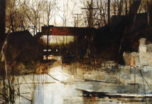 Landscape painting by Charlie Hunter - OutdoorPainter.com