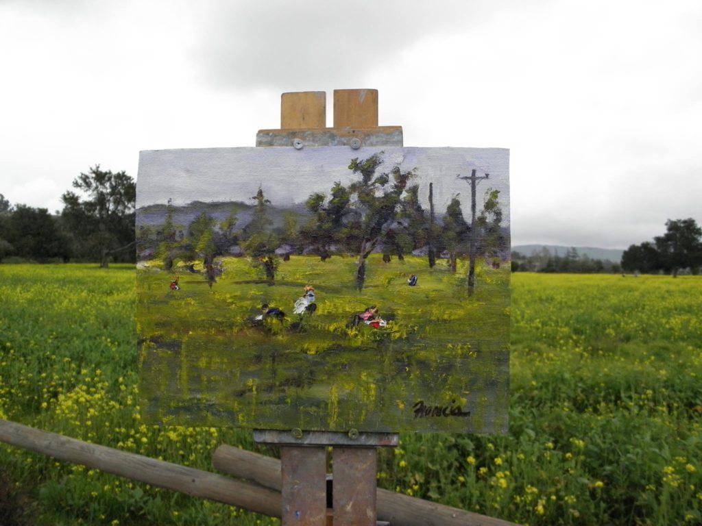 """Mustard Pickers,"" by Bob Francis"