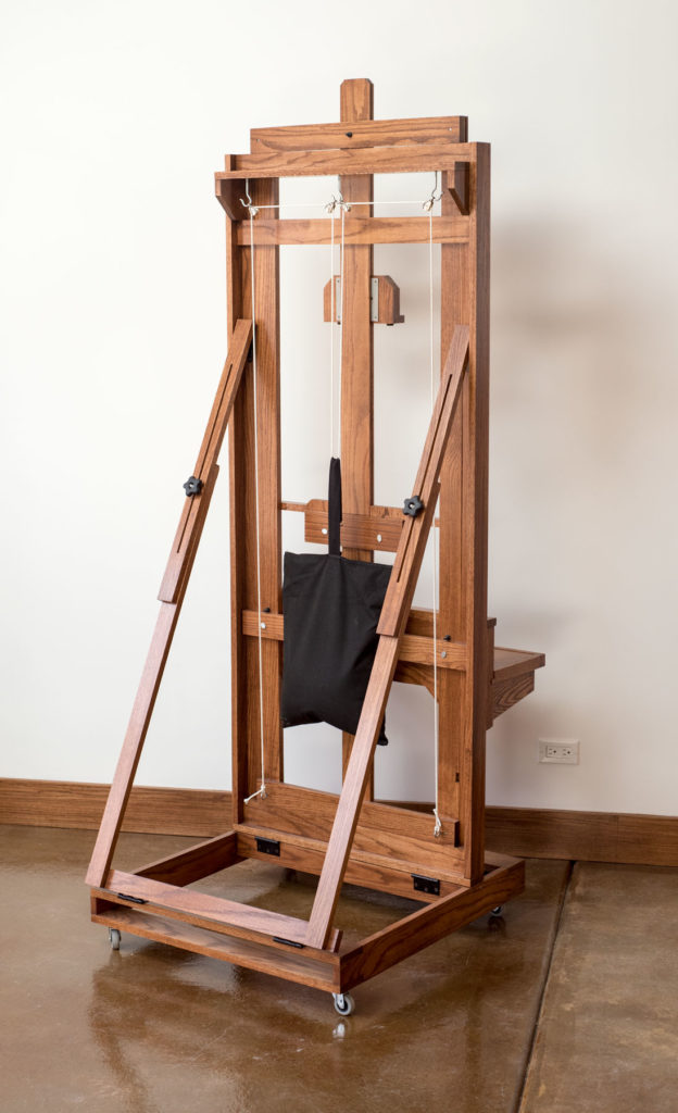 how to build an easel