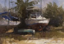 An Artist's Perspective On Boats, Buildings, and Brushes