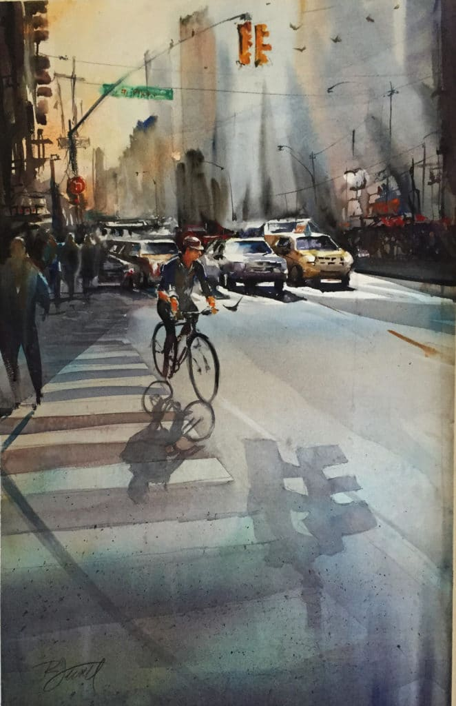 Cityscape paintings - OutdoorPainter.com
