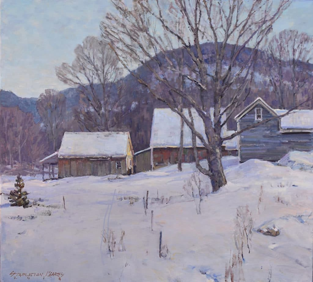 Painting snow - OutdoorPainter.com