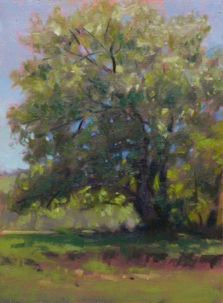 How to paint trees - OutdoorPainter.com