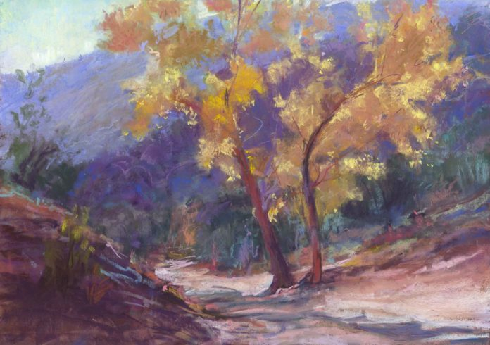 Plein air painting by Molly Lipsher