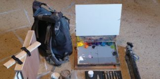 How to Travel Light When Painting Abroad - OutdoorPainter.com