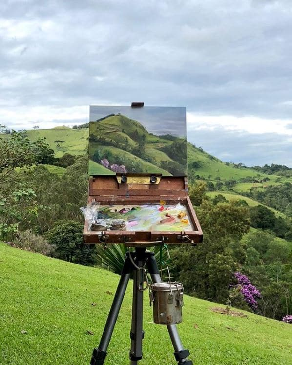 Blending plein air paintings with reality - OutdoorPainter.com