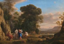 Plein air art history - Claude Lorrain - OutdoorPainter.com