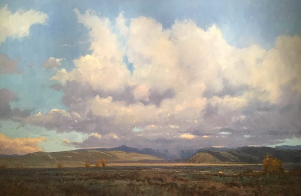 Landscape painting by John Hughes