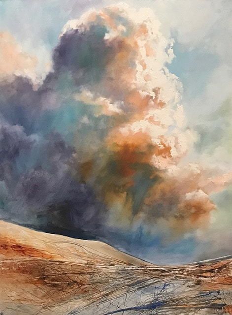 """Susan Blackwood, """"Over the Land,"""" 48 x 36 in."""