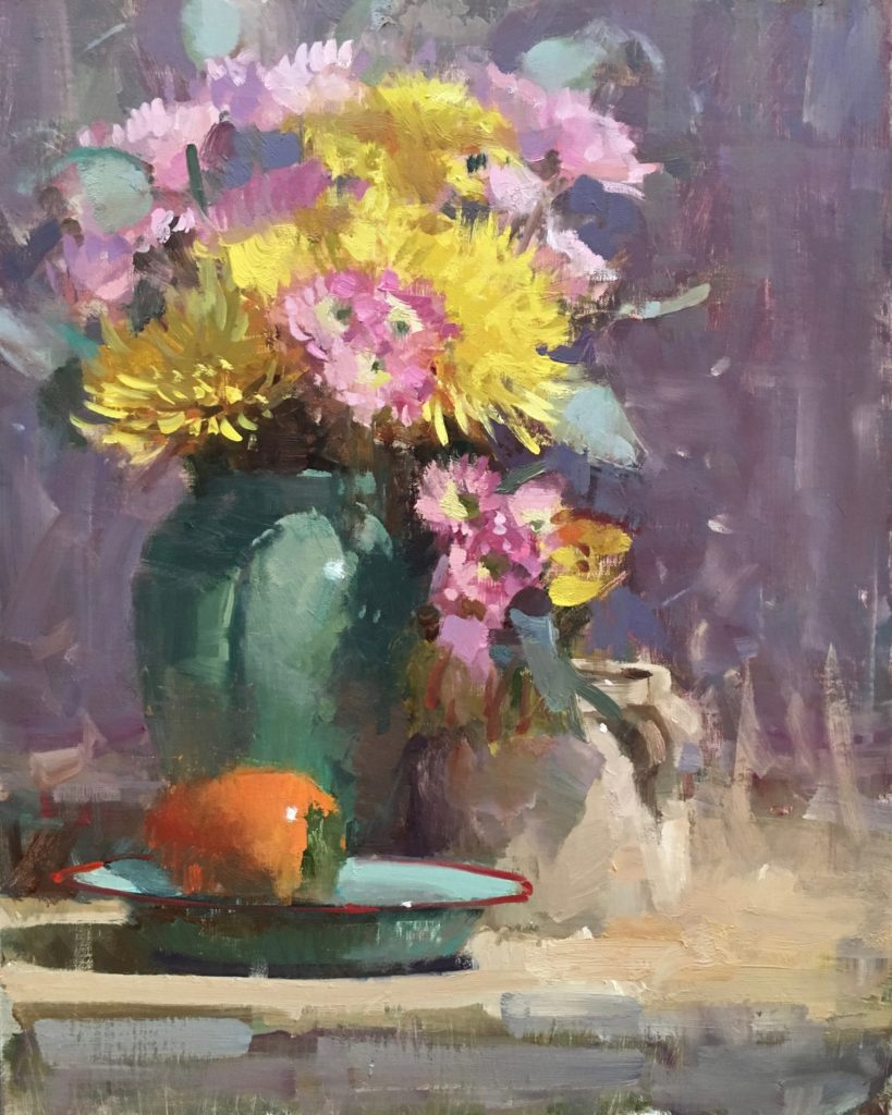 Still life painting by Randall Sexton