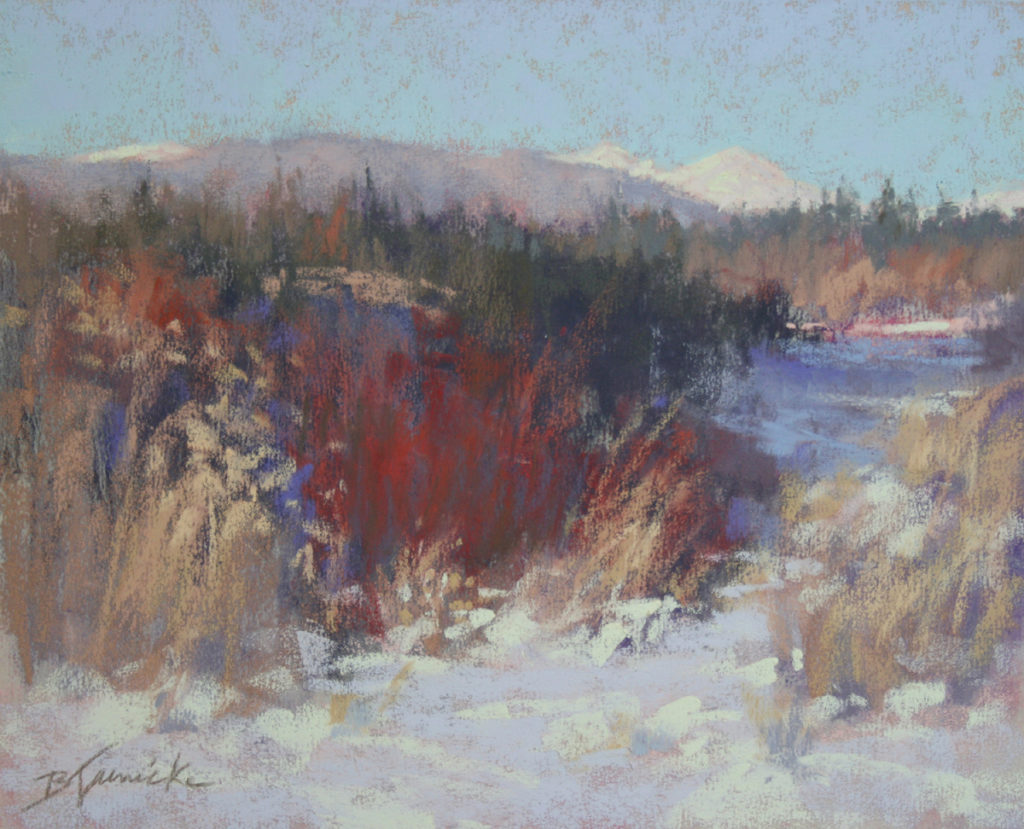 Pastel landscape painting how-to