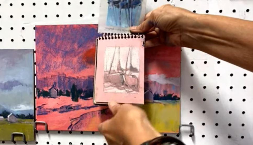 how to paint - Linda Richichi