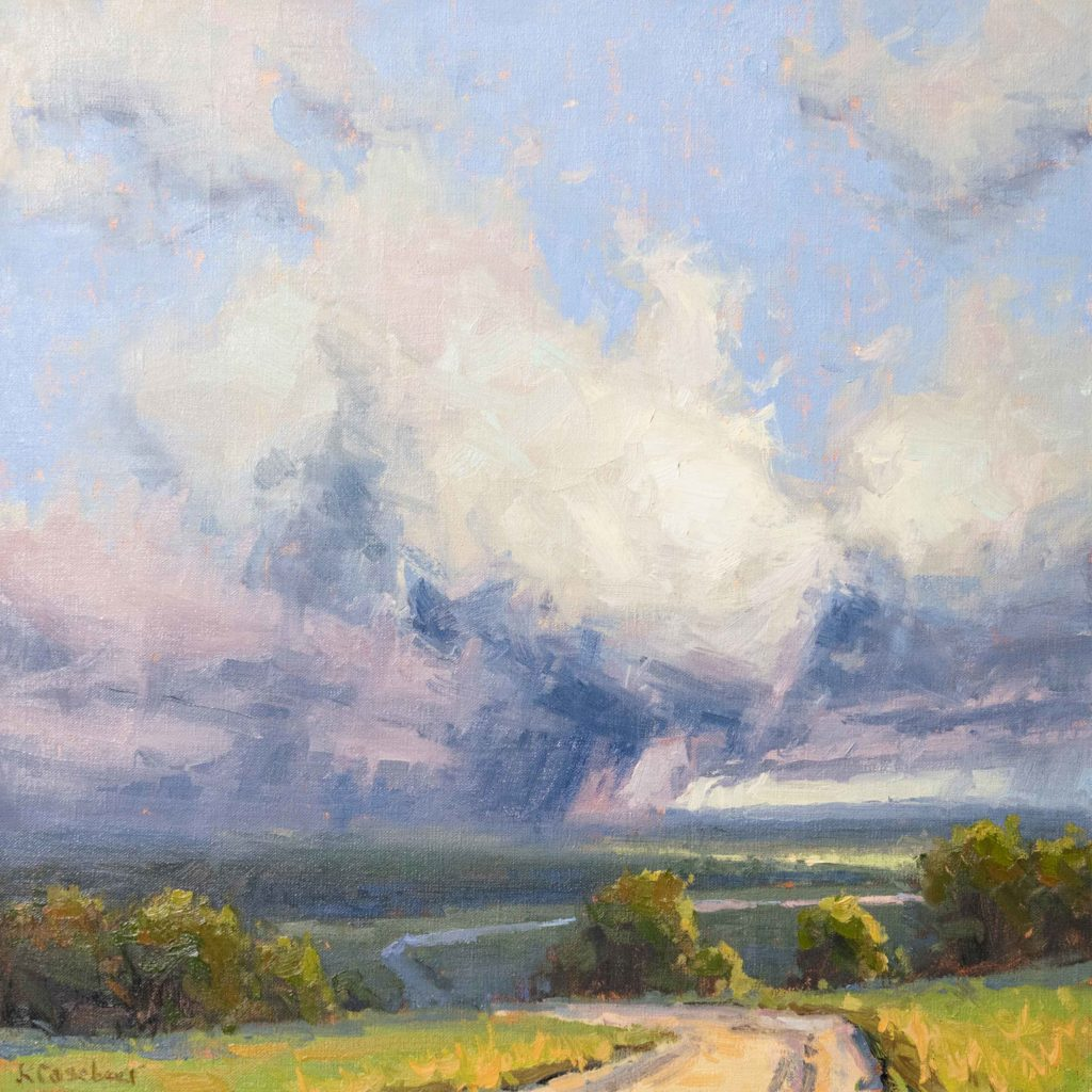 How to paint skies in oil